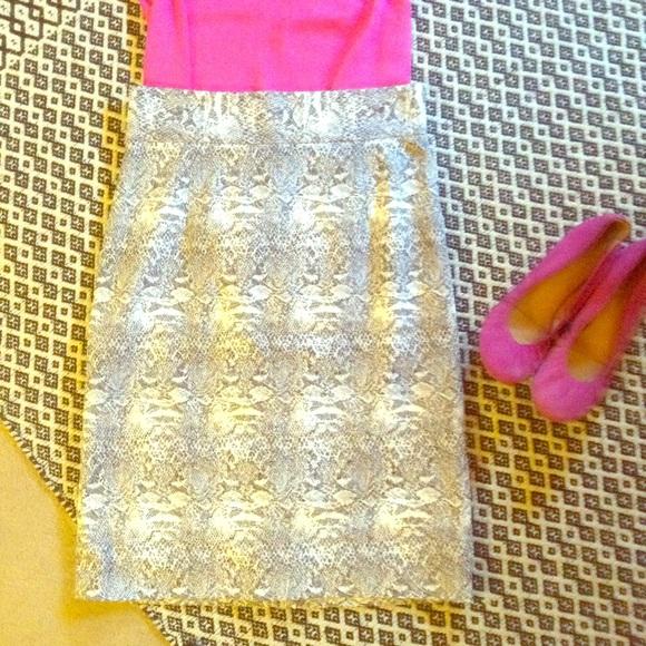 fe28591192 ANTONIO MELANI Skirts | Sz 6 Pencil Skirt Black White | Poshmark